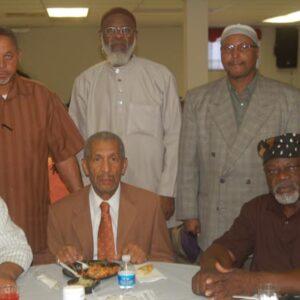 30th Anniversary Dinner group of men