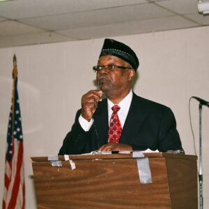 Guest speaker Imam Dr. Abdul Majied Karim Hasan