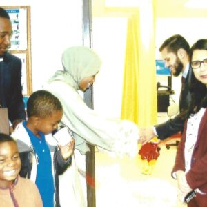 Ribbon Cutting Ceremony at Salaam Clinic Grand Opening