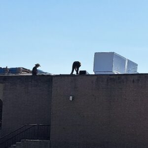 Roof top tear off project