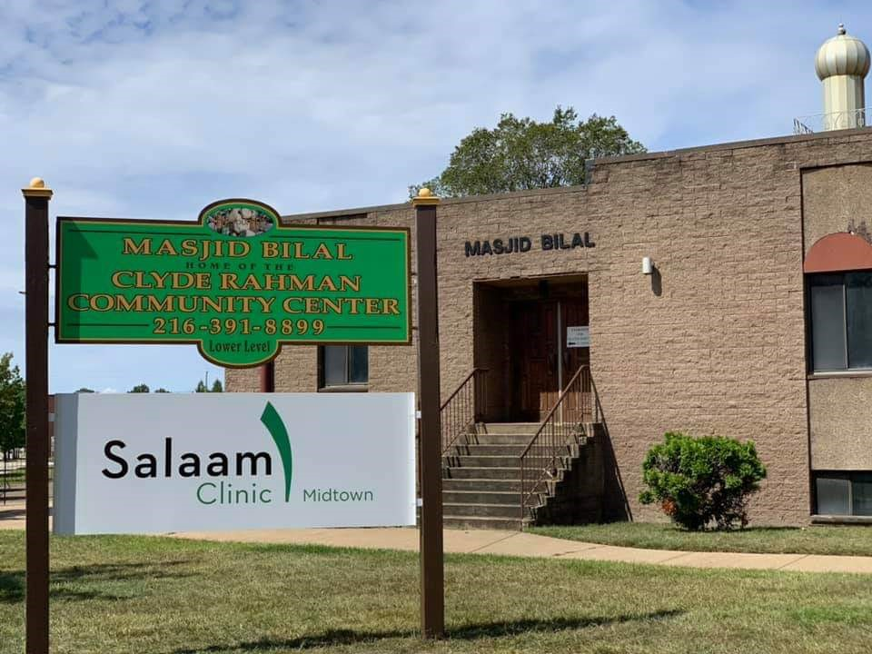 Salaam Clinic Midtown located at Masjid Bilal of Cleveland