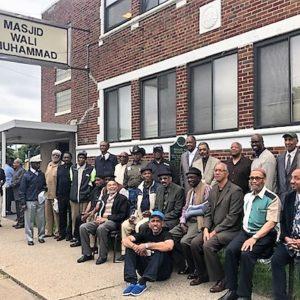 Group Photo of Members of Masjid Bilal and Masjid Wali Muhammad
